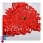 Набор маска+наручники+стринги Obsessive Hetea 3 pcs set red S/M (410645) 1