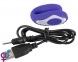 Вибратор для пар Rechargeable Blow Job Vibrator Purple (61325901690000) 6