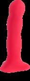 Фаллоимитатор Fun Factory «Bouncer», 18х4 см, красный 0