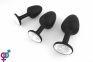 Анальная пробка Marc Dorcel Geisha Plug M, 7,5х3,3 см (Белый) 3