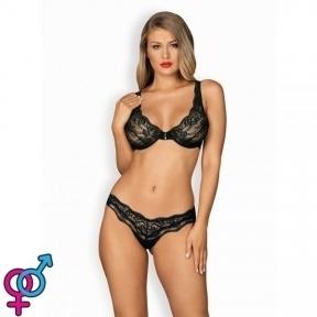 Комплект Obsessive Luvae set S/M черный (410719)