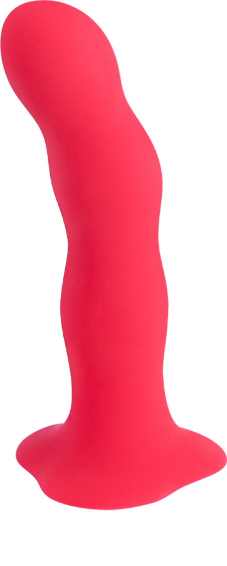 Фаллоимитатор Fun Factory «Bouncer», 18х4 см, красный