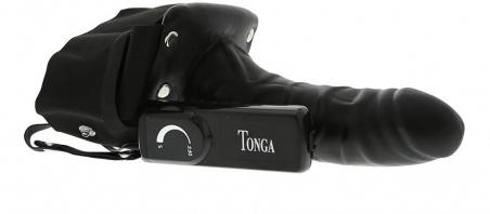 Мужской страпон с вибрацией «Robotic Male Strap-on», 17,8х4,5 см