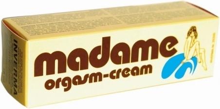 Возбуждающий оргазм-крем «Madame», 18 мл