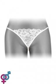Трусики-стринги Fashion Secret VENUSINA White