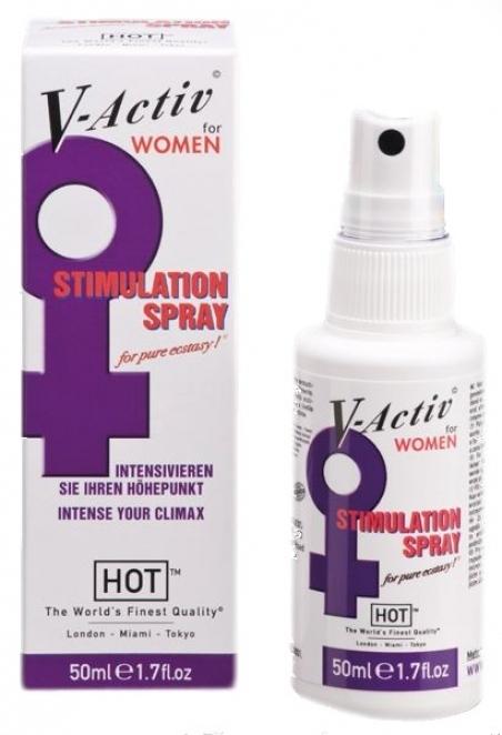 Стимулирующий спрей для женщин «V-Activ», 50 мл