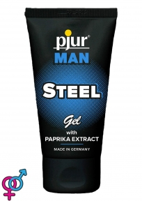 Возбуждающий гель для массажа «Pjur Man Steel Gel», 50 мл