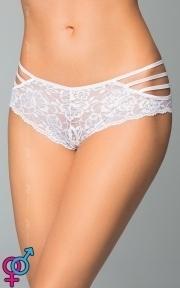 Женские стринги-шортики Shorts 2478, белые S/M (5591247826)
