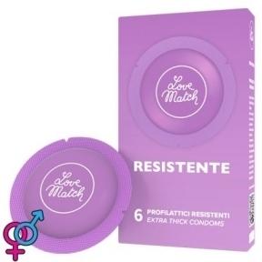Презервативы Resistente (Strong), 54 мм, 6 шт. (8118000009)