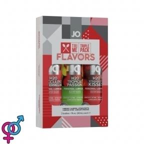 Подарочный набор System JO Limited Edition Tri-Me Triple Pack - Flavors, 3х30 мл