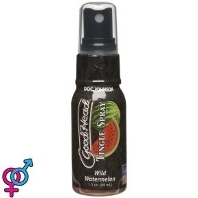 Спрей для минета Doc Johnson GoodHead Tingle Spray – Watermelon (29 мл) со стимулирующим эффектом (SO3493)
