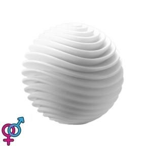 Мастурбатор TENGA GEO Aqua, новый материал, нежные волны, новая ступень развития Tenga Egg (SO3561)