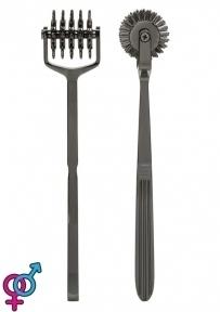 Колесо Вартенберга игольчатое на 5 рядов зубцов Doc Johnson Kink- Spike - Solid Metal Pinwheel - 5 W (SO4019)