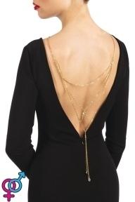 Колье на спину Bijoux Pour Toi - Lise Gold (SO4034)