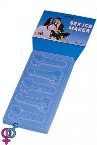 Формочки для льда Plastic Sex Pecker Ice Maker Poly Carded