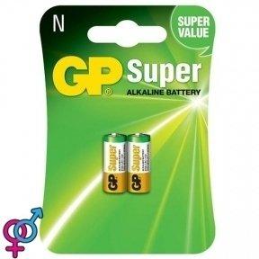 Батарейка GP Super alkaline LR1, 2 шт