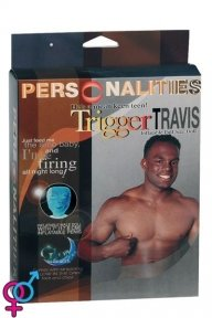 Секс кукла-мужчина «Trigger Travis: glow in the dark»