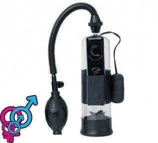 Вакуумная помпа для мужчин «Power Pump», 18х6 см