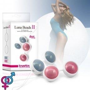 Вагинальные шарики Luna Beads II Pink (6452LVTOY212)