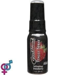 Спрей для минета Doc Johnson GoodHead Tingle Spray – Strawberry (29 мл) со стимулирующим эффектом (SO3492)