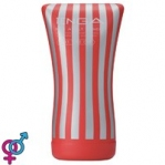 Мастурбатор Tenga Soft Tube Cup, 15x6 см