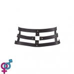 Портупея Bijoux Indiscrets MAZE - Wide Belt and Restraints Black