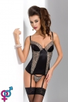 Женский корсет Passion Montana Corset, black