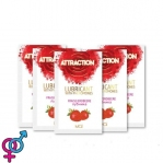 Пробник лубриканта с феромонами MAI ATTRACTION LUBS STRAWBERRY, 10 мл (SO3958)