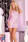 Платье Glitterati sequin dress pink M/L (PL7225027PNKML)