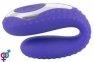 Вибратор для пар Rechargeable Blow Job Vibrator Purple (61325901690000)